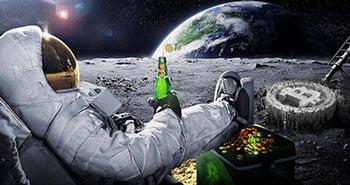 Crypto in moon